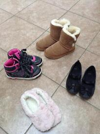 Girls shoe bundle size 11