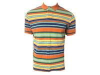 Polo Ralph Lauren Mens Short Sleeve Striped Mesh Top Tee T-shirt TW73