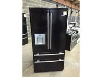 Ex Display Black Gloss RangeMaster A+++ No Frost American F-F(BRING YOUR OLD ONE AND GET NEW-25%)