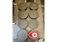 Olympic Bumper Weight Plates 140kg