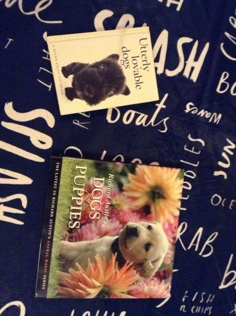 Two Puppy and Dog Books