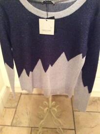 Ladies sparkle effect jumper. Maker —