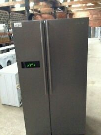 Samsung Stainless Steel Total No Frost American Style Fridge Freezer £280