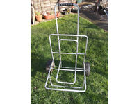 large fishing trolly the base is 18 x 18inch