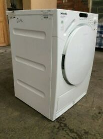 White Miele 8Kg B Rating Condenser Tumble Dryer (BRING YOUR OLD ONE AND GET NEW -25%)