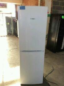Ex Display A++ Class Bosch White Fridge Freezer