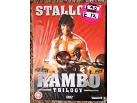 BRAND NEW Rambo Triology DVD Boxset ** Only £1 **
