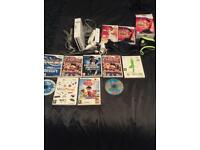 Nintendo Wii Bundle inc. Wii Active/ Wii Zumba plus more.