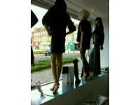 Women's mannequins x4