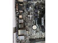 Prebuilt AMD ryzen 2200g on asus b350m prime motherboard