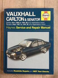 Haynes manual Carlton and senator