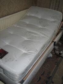 Pocket Spring Adjustable Bed – Excellent conditionDescription