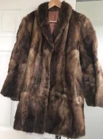Vintage Fur Coat from Paris.