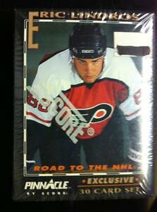 1992-93 Pinnacle .. ERIC LINDROS - ROAD to the NHL (30 card set)