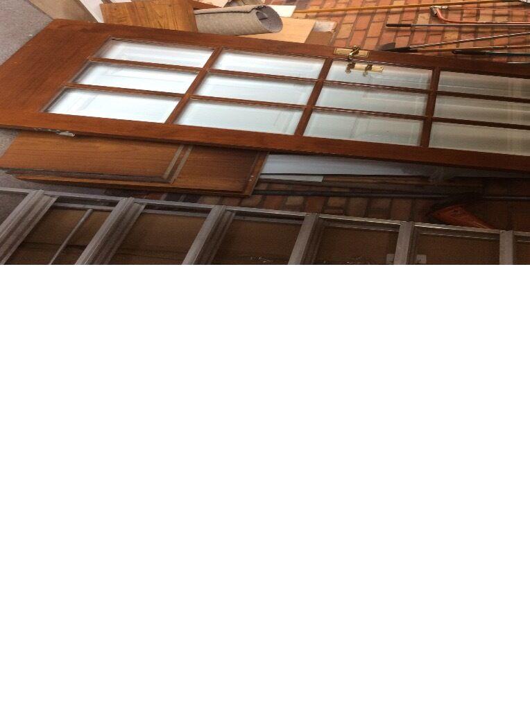 White glazed 15 panel door buy sale and trade ads for 15 panel beveled glass door