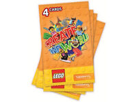 Sainsburys Lego Create The World Collector Cards Swaps ONLY