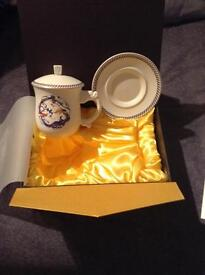 Cup and saucer Chinese