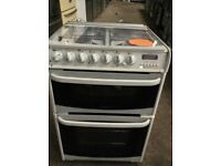 White Cannon A+ Class 60cm. Gas Cooker With Double Electric Oven