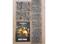 NEW Death Guard Warhammer 40k army from Dark Imperium box set