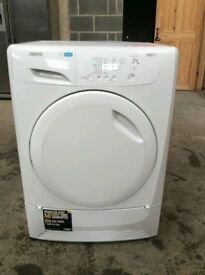 Zannusi White 7 Kg Sensor Condenser Tumble Dryer (BRING YOUR OLD ONE AND GET NEW -25%)