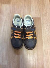 Brand new clarks shoes boys 11.5f