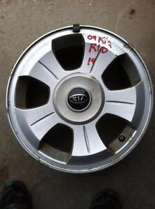 "4 - 2004 Kia Rio 14"" Alloy Rims (4x100) with Center Caps"