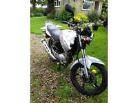 Yamaha YBR125 2012 Plate, Low Mileage, Recent MOT