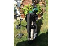 Lady's golf set plus trolley