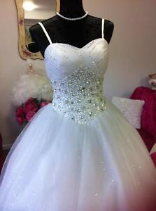 Deb or Wedding WHITE dress Ferntree Gully Knox Area Preview