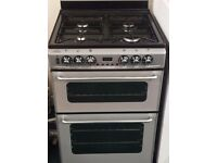 New world 60cm dual fuel cooker