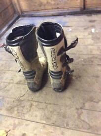 Alpinestars motorcross boots men's size 7