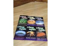 6 Chris Ryan alpha force books !!