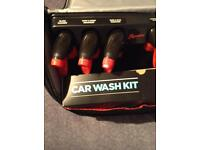 Car medical and safety kit with complete and upholstery kit