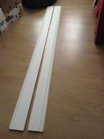2 x 8ft skirting
