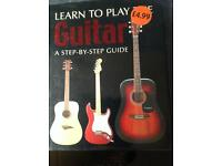 Learn to play guitar book