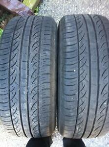 2 - Pirelli All Season Tires with Great Tread - 235/55 R17