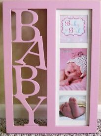 Photo Frame - New 'Baby Girl'
