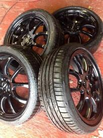 Mini JCW alloy wheels