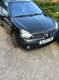 BARGAIN Renault Clio 1.5 cdi - spares or Repair Clutch Needed Billabong Edition