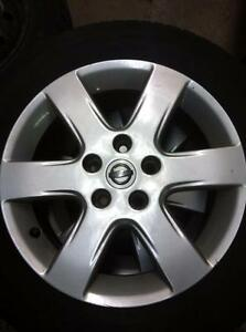 "4 - Nissan 16"" Altima Alloy Rims (5X114.3)"