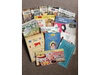 Vintage cookery booklets