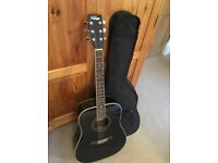 Vintage Acoustic Guitar with Soft Case