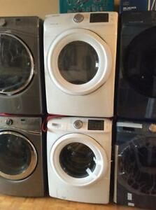 BRAND new Samsung White HE Front-Load Washer and Dryer