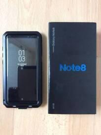 Samsung galaxy note 8 64gb midnight black UNLOCKED