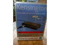 Laptop power adaptor. Kensington. New