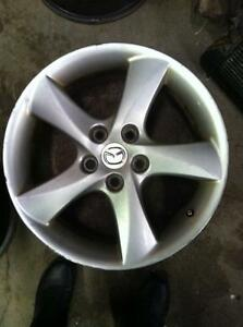 "4 - Mazda 6 Alloy Rims - 17"" x 7"", 5 Lug, 114mm Bolt Pattern, 60mm Offset (With Center Caps)"