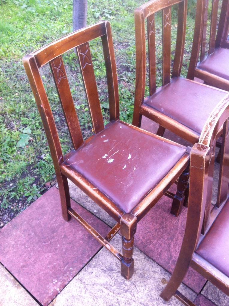 10 chairs in need of some work