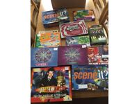 JOBLOT OF OVER 30 BOARD GAMES MANY DVD GAMES INCLUDED