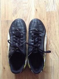 puma leather football boot size 7