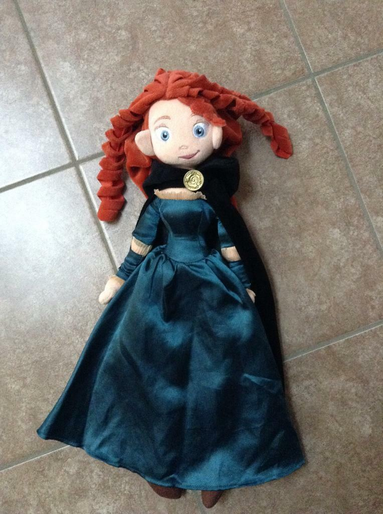 Disney Merida soft doll